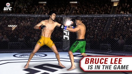 EAの総合格闘技シミュレーションゲーム「EA SPORTS UFC」スマホ版にブルース・リーが参戦