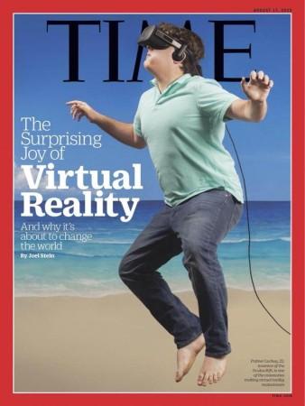 TIME誌の最新号はVR特集 表紙を飾ったOculus VR創業者パルマー・ラッキー氏が早速クソコラのネタに
