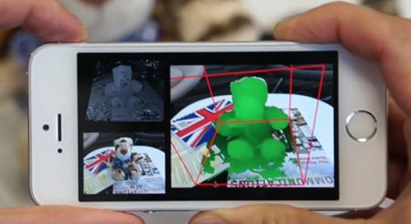 Microsoft、スマホのカメラを3Dスキャナにできるアプリ「MobileFusion」を開発