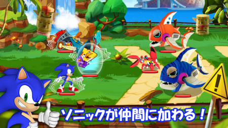 Angry BirdsのRPG「Angry Birds Epic」にソニック・ザ・ヘッジホッグが登場!