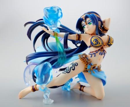 「水精の天女 テキーラ」の限定フィギュアが当たる! 「モンスターストライク」と味長続きガム「ストライド」がコラボ