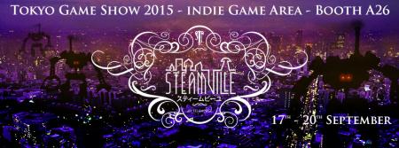 スマホ向けスチームパンク謎解きゲーム「Steampunker」開発のTelehorse、東京ゲームショウ2015にて新作タイトル「STEAMVILLE」を発表