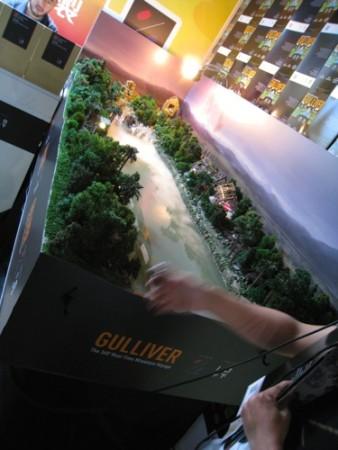 【TGS2015】視点が変わると物の見え方も変わる…小人気分が味わえる香港のVRソリューション「GULLIVER」