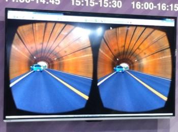 【TGS2015】VRヘッドセットの併用でドライブシミュレーションがよりリアルに フォーラムエイトのVR用マップツール「UC-win/Road」