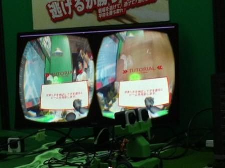 【TGS2015】VR+ゲーム+ロボティクス…なてんこ盛りMRシミュレーター「くえりんろぼ」