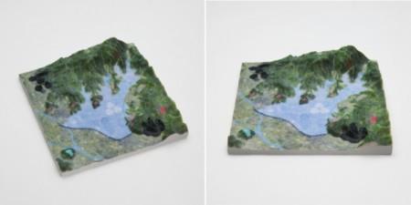 3Dプリントできる3D地図サービス「RinkakでこぼこMAP」に戦国合戦地図が登場!