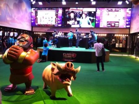 【TGS2015】Supercellがゲームショウ初出展 コンパニオンなし、シリアル配布なし、芸能人なしでも大盛況