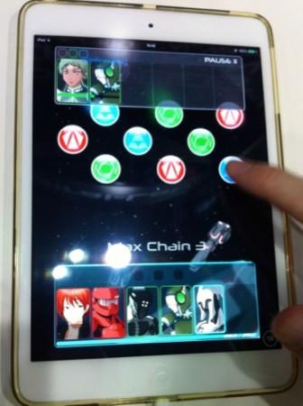 【TGS2015】音ゲー+シューティングゲームのようなスマホ向けチェインアクションRPG「PHOBOS CHILDREN」