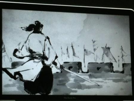 【TGS2015】全てが墨で表現された台湾発の水墨書画風武侠アクションゲーム「説剣(The Swords)」