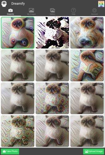 【やってみた】DeepDreamな写真が撮れるスマホ向けカメラアプリ「Dreamify」で日常を悪夢にしよう