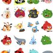 Rovio、「Angry Birds」の動くFacebookスタンプをリリース