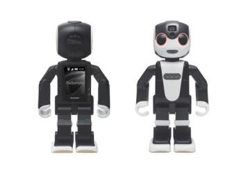 シャープ、2016年前半に人型ロボット携帯電話「RoBoHoN」を発売