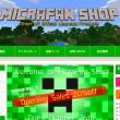 InfoLens、「Minecraft」の公式ショッピングサイトをオープン