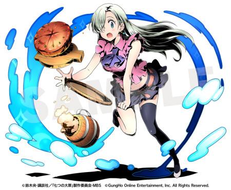 ガンホー、スマホ向けパネルRPG「ディバインゲート」にて10/23より人気コミック/アニメ「七つの大罪」とコラボ
