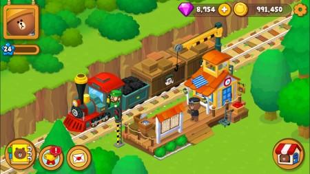 LINE、LINEキャラ初の農場ゲーム「LINE ブラウンファーム」事前登録受付を開始