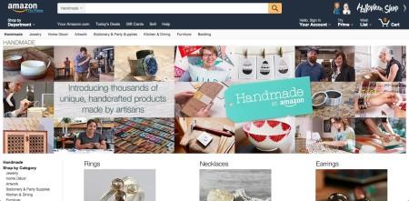 Amazonがハンドメイドマーケットに参入 「Amazon Handmade」をオープン