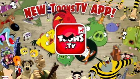 Rovio、アニメ配信チャンネル「ToonsTV」のネイティブアプリをリリース