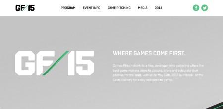 5/12にフィンランドにてゲーム系カンファレンスイベント「Games First Helsinki 2015」が開催