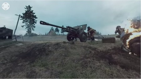 Wargaming、第二次世界大戦時の戦車戦を再現した360°パノラマ動画を公開
