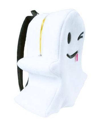 ハロウィンにピッタリ!? Snapchat、アイコンのオバケをそのままデザインした公式バッグパックを発売
