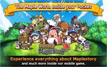 ネクソン、MMORPG「メイプルストーリー」のスマホ版「メイプルストーリーポケット」のグローバル展開を開始