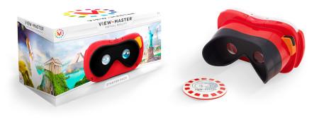 玩具メーカーのマテル、子供向けVRゴーグル「View-Master」を発売