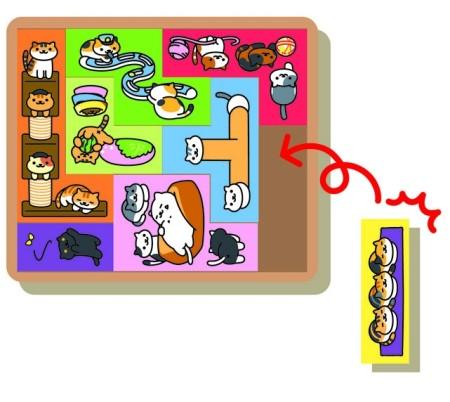 幻冬舎、「ねこあつめ」の木製パズルゲーム「ねこあつめ つめねこパズル」を発売