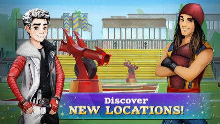 ディズニー、TV映画「Descendants」の公式スマホゲームをリリース