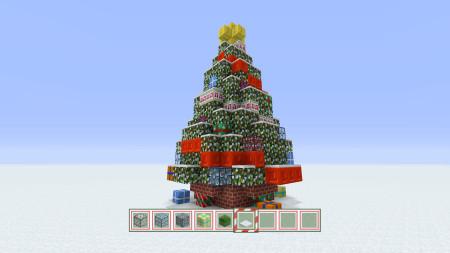 マインクラフトっぽいクリスマスツリーが12/11より赤坂サカスに登場