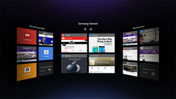 サムスン、VRヘッドマウントディスプレイ「Gear VR」向けのWebブラウザを公開