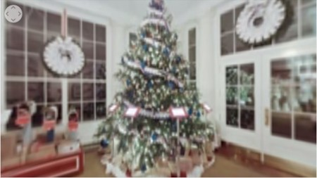 Google、ホワイトハウスのクリスマスツリーを見られる360°動画を公開