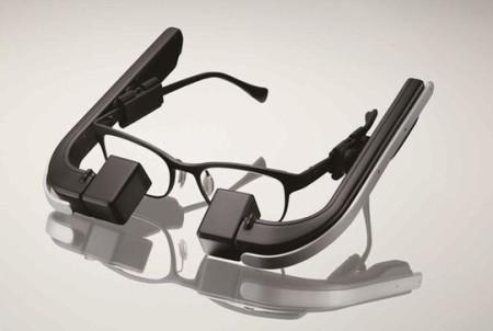 メガネスーパー、メガネ型ウェアラブル端末「b.g.(ビージー)」の商品プロトタイプを発表