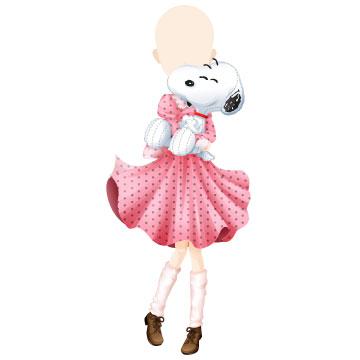ファッションゲーム「ガルショ☆」と「スヌーピー」がコラボ