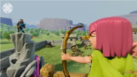 Supercell、「Clash of Clans」の360°パノラマ動画を公開