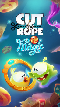 ZeptoLab、スマホ向けアクションパズルゲーム「Cut the Rope」シリーズの新作「Cut the Rope: Magic」をリリース