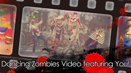 モーションポートレート、自分や友達の顔写真からゾンビ化したダンスムービーが作れるiOSアプリ「ZombieMe-ゾンビミー」をリリース