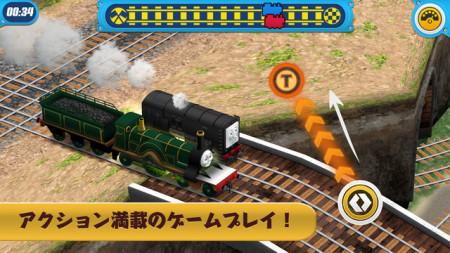 Animoca Brandsとマテル、「きかんしゃトーマス」のスマホゲーム「Thomas & Friends: Race On!」をリリース