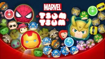 マーベルキャラ達が多数登場するパズルゲーム「マーベル ツムツム」、300万ユーザーを突破