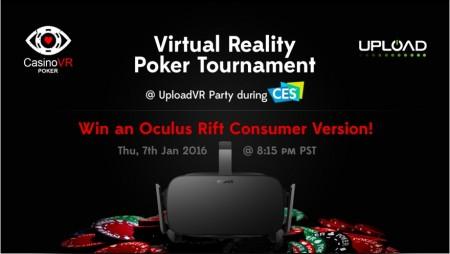 ラスベガスならでは! VRニュースサイトのUpload VR、CES 2016に合わせ「VRポーカー大会」を開催