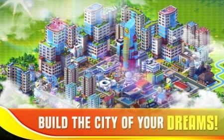 コロプラ、スマホ向け街作りゲーム「ランブル・シティ」をもとに開発した「Downtown Showdown」を全世界で配信