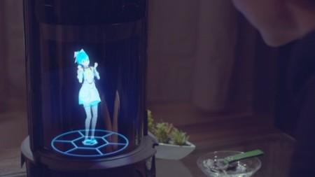 ウィンクル、好きなキャラクターと一緒に暮らせるホログラムコミュニケーションロボット「Gatebox」を発表