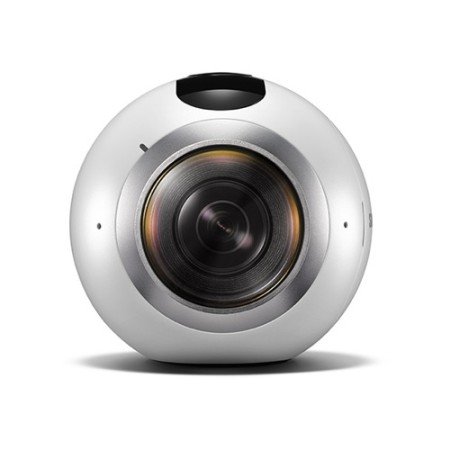 サムスン、球状の360度カメラ「Gear 360」を発表