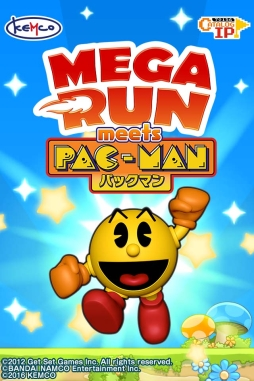 「Mega Run」とパックマンがコラボ! KEMCO、iOS版「Mega Run meets パックマン」の事前登録受付を開始