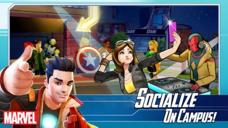TinyCo、アベンジャーズの学パロスマホゲーム「MARVEL Avengers Academy」をリリース