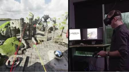 Epic Games、VR環境でゲームを開発できる「Unreal Engine 4」の新機能を紹介