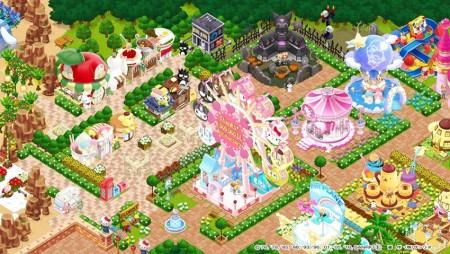 遊園地経営シミュレーションゲーム「ハローキティワールド」、400万ダウンロードを突破