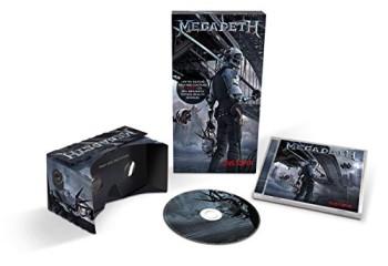 ヘヴィメタルバンドのMegadeth、VRゴーグル付きの新アルバム「Dystopia」をリリース