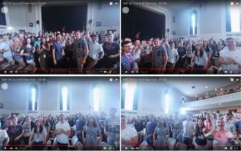 海外留学のEF、留学生活が360度見渡せるVR動画をYoutubeにて公開