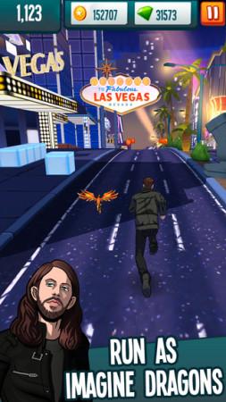 オルタナティヴロックバンドのImagine Dragons、スマホゲーム「Stage Rush: Imagine Dragons」をリリース