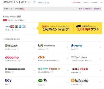 DMM、仮想通貨「Bitcoin」でのポイントチャージを可能に